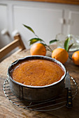 Orange cake with syrup
