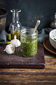 Chimichurri in a jar