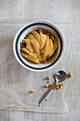 Crisps with pears