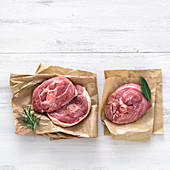 Turkey osso buco (leg slices)