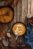 Autumnal pumkin soup