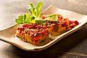 Vegane Rote-Bete-Quiche mit Dill