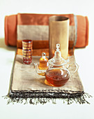 Oriental tea setting