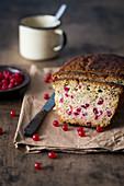 Redcurrant pound cake