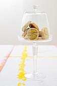 Vanille-Pistazien-Kekse mit Zimt