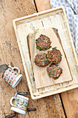 Bavaria meets Asia - Asian venison fritters