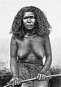Loyalty Islands woman, 19th century