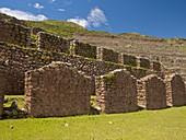 Inca ruins, Machucolipa, Peru
