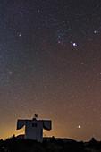 Night sky over BOOTES dome, Yunnan, China