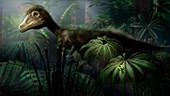 Sciurumimus dinosaur, illustration