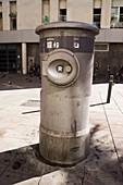 Urban vacuum waste disposal system