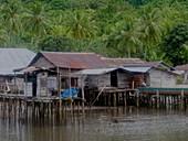 Fishing village, Indonesia