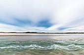Heuningnes River estuary, South Africa