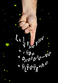 Standard Model particle physics equations