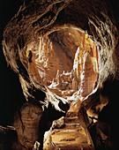 Stalactites and stalagmites, Liguria