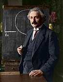 Albert Einstein, German-Swiss physicist