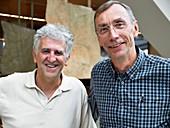 Arsuaga and Paabo, human evolution researchers