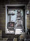 Disused fuse box