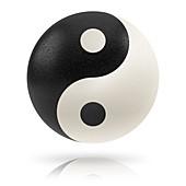 Yin yang, illustration