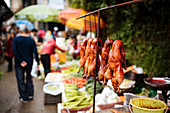 Local Market in Xinjie (Yuanyang, Yunnan Province, China, Asia)