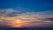 Sunrise, timelapse