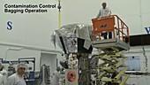 Parker Solar Probe transportation time-lapse, November 2017