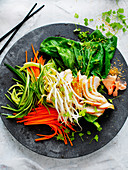 Chicken with Pickled Vegetables