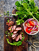 Italian-Style Lamb Salad