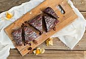 Schokoladen-Pekannuss-Kuchen
