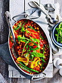 Smoky chickpea stew