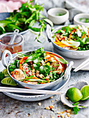 Pork Stir-Fry with Lime and Peanuts
