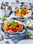 Chicken Tikka with Cauliflower Rice