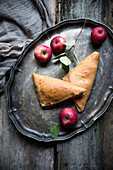 Vegan apple turnovers