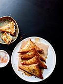 Garnelen-Böreks aus dem mittleren Osten