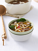 Asian Barbecued Pork and Udon Soup