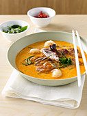 Asian Duck and Lychee Curry