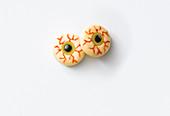 Unheimliche Käse-Augen zu Halloween