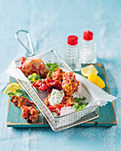 Peppadew poppers with cheese stuffing