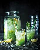 Cucumber and mint virgin mojito