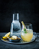 Ginger and lemongrass cordial