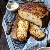 Sweet potato and chorizo bread