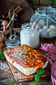 Beetroot lasagna