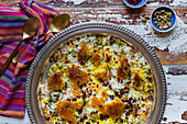 Chelo Persian Rice with Tahdigh