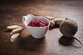 Beetroot and horseradish sauce