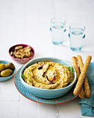 Smoky cannellini bean dip