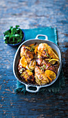 Citrus chicken and sweet potato bake