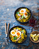 Smoked sardine kedgeree