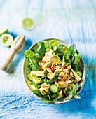 Thai coronation salad