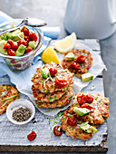 Gluten-Free Ham and Green Onion Fritters