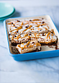 Frozen peanut butter rocky road bars